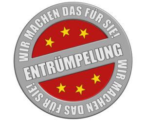 Schild graurot rund rt WMDFS ENTRMPELUNG